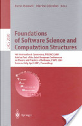 Foundations of software science and computation structures by Furio Honsell