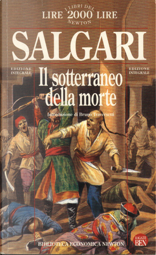 Il sotterraneo della morte by Emilio Salgari