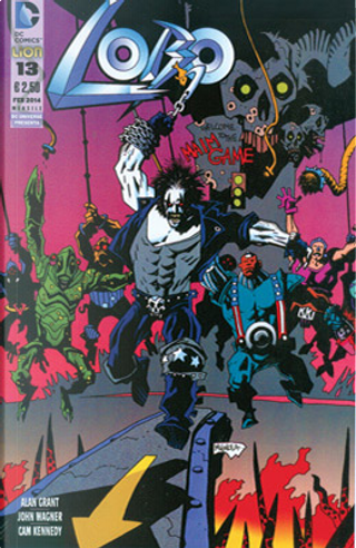Lobo n. 13 by John Wagner, Alan Grant, Mikey Way