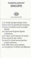 Sincope by Roberta Dapunt