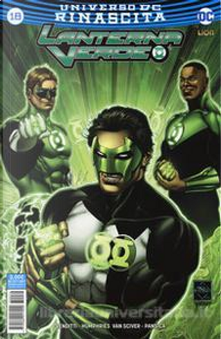 Lanterna Verde #18 by Robert Venditti, Sam Humphries