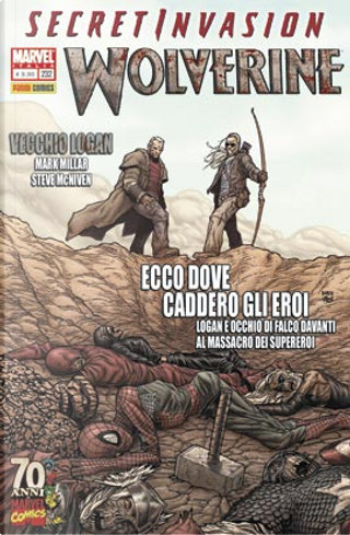 Wolverine n. 232 by Daniel Way, David Lapham, Kelly Goodine, Mark Millar, Paul Cornell, Paul Neary, Steve McNiven