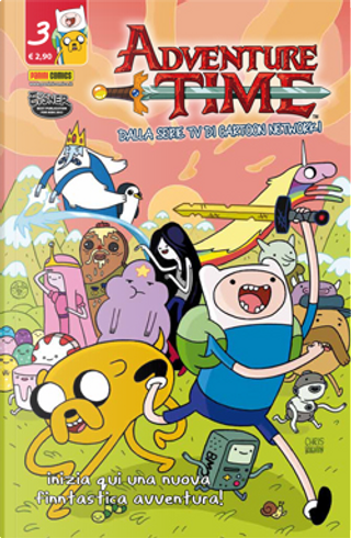 Adventure Time n. 3 by Paul Pope, Ryan North, Anthony Clark, Zac Gorman, Georgia Roberson, Chris Roberson