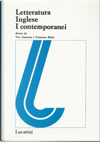 Letteratura Inglese 1.1 by Francesco Binni, Vito Amoruso