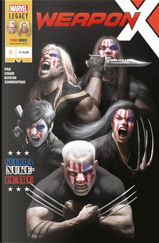 Weapon X vol. 4 by Fred Van Lente, Greg Pak