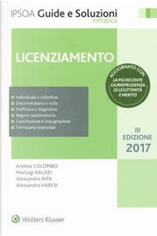 Licenziamento. Con Contenuto digitale per download e accesso on line by Andrea Colombo