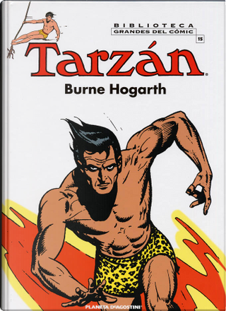 Tarzán 15 by Burne Hogarth