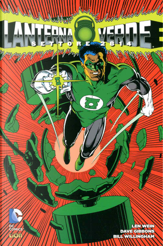 Lanterna Verde: Settore 2814 vol. 2 by Paul Kupperberg, Len Wein