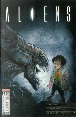 Aliens #23 by Mark Verheiden, John Layman, John Arcudi