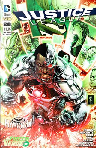 Justice League n. 20 by Rob Liefeld, Geoff Jones, Frank Tieri, Ann Nocenti