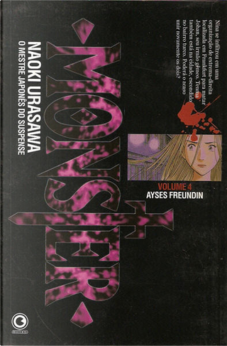Monster - Volume 4 by Naoki Urasawa