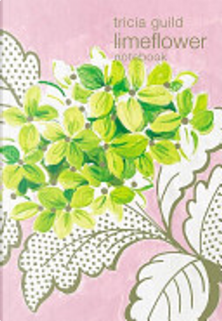 Tricia Guild Lime Flower Notebook by Tricia Guild