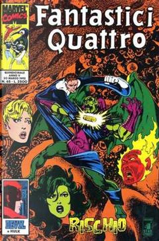 Fantastici Quattro n. 65 by Ann Nocenti, John Byrne, Peter David