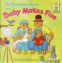 The Berenstain Bears and Baby Makes Five by Jan Berenstain, Stan Berenstain