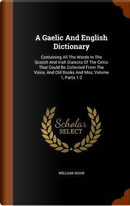 A Gaelic and English Dictionary by William Shaw