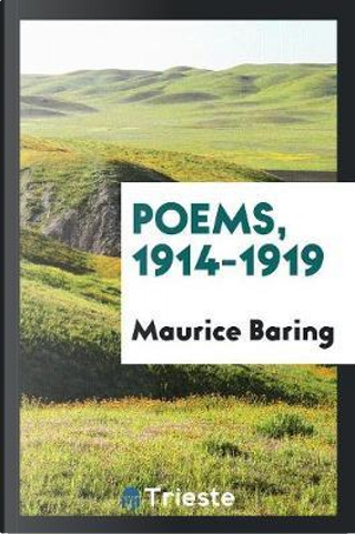 Poems, 1914-1919 by Maurice Baring