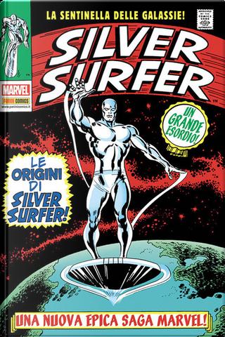 Silver Surfer by Sal Buscema, Dan Adkins, Stan Lee