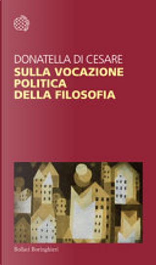 Sulla vocazione politica della filosofia by Donatella Di Cesare