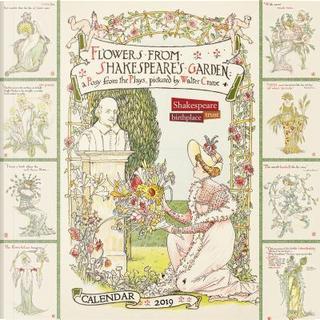 Shakespeare Birthplace Trust - Shakespeare's Garden 2019 Calendar by Flame Tree