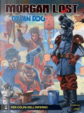 Morgan Lost & Dylan Dog n. 6 by Claudio Chiaverotti