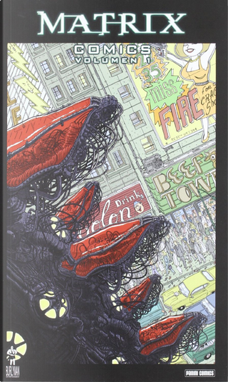 Matrix Comics by Andy Wachowski, Jim Krueger, Larry Wachowski, Neil Gaiman, Peter Bagge, Poppy Z. Brite, Ryder Windham, Spencer Lamm