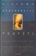Profeti by Giacomo Debenedetti