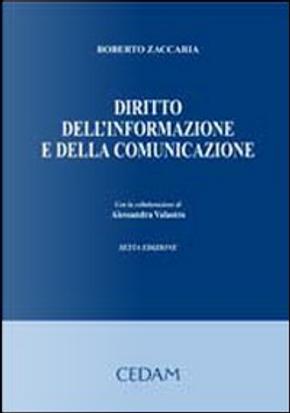 Diritto dell'informazione e della comunicazione by Roberto Zaccaria