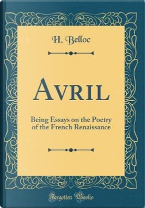 Avril by H. Belloc