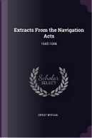 Extracts from the Navigation Acts by Great Britain