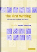 The first writing by Stephen D. Houston