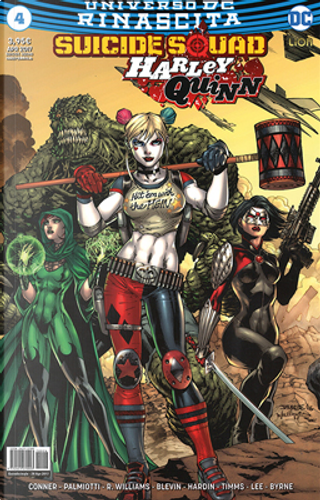 Suicide Squad - Harley Quinn #4 by Amanda Conner, Jimmy Palmiotti, Rob Williams