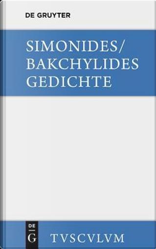 Gedichte by Simonides