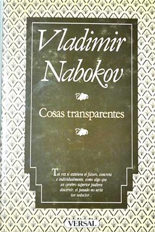 Cosas transparentes by Vladimir Vladimirovich Nabokov