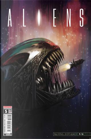 Aliens #5 by Brian Wood