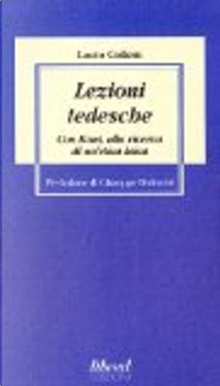 Lezioni tedesche by Lucio Colletti