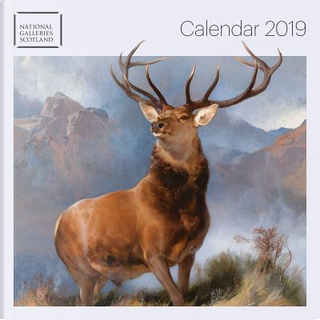 National Galleries Scotland 2019 Calendar by Flame Tree