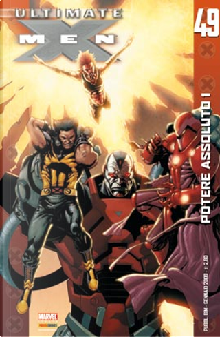 Ultimate X-Men n. 49 by Aron Eli Coleite, Harvey Montecillo Tolibao, Jaime Mendoza, Mark Brooks, Robert Kirkman, Troy Hubbs