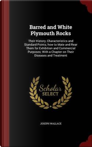 Barred and White Plymouth Rocks by Joseph Wallace