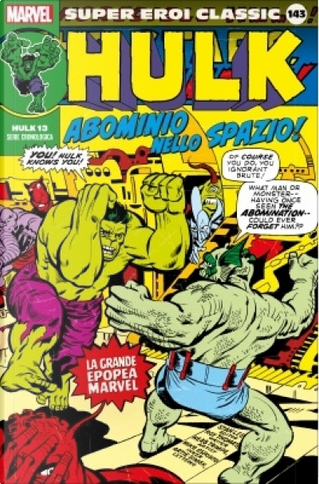 Super Eroi Classic vol. 143 by Gerry Conway, Roy Thomas