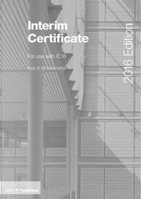Interim Certificate for IC16 by Darya Bahram