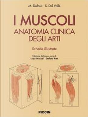 I muscoli. Anatomia clinica degli arti. Shede illustrate by M. Dufour
