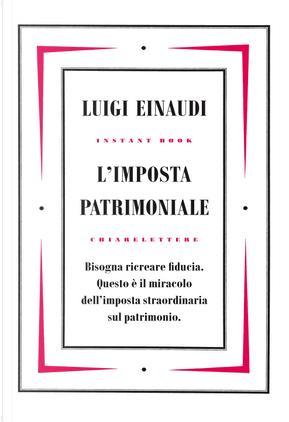 L'imposta patrimoniale by Luigi Einaudi