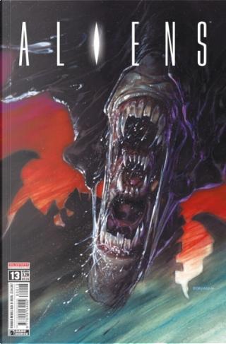 Aliens #13 by Chuck Dixon, Sarah Byam