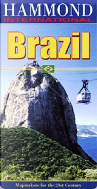 Brazil Map by Hammond World Atlas Corporation