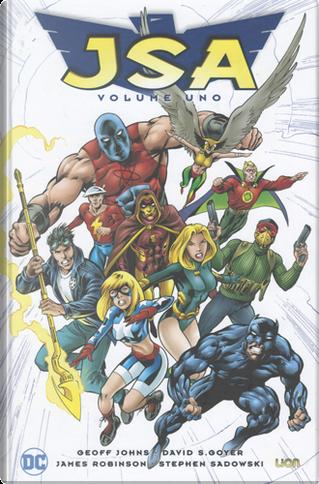 Justice Society of America di Geoff Johns vol. 1 by Chuck Dixon, David Goyer, Geoff Jones, James Robinson, Mark Waid, Ron Marz, Tom Peyer