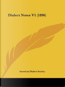Dialect Notes V1 (1896) by American Dialect Society