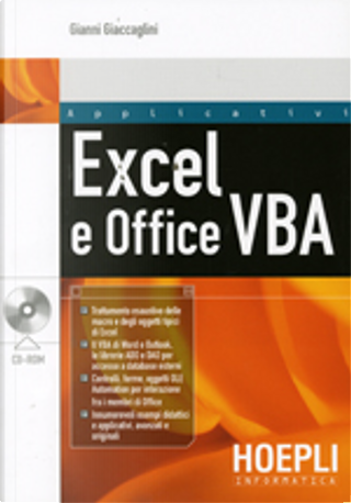 Excel e Office VBA by Gianni Giaccaglini