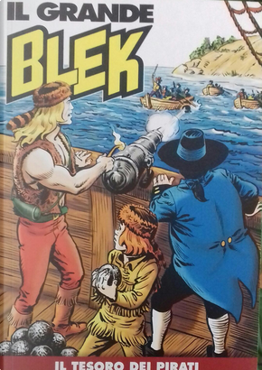 Il grande Blek n. 114 by Leonello Martini