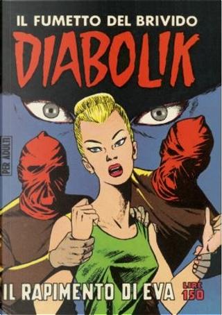 Diabolik: Anastatika n. 21 by Angela Giussani, Luciana Giussani