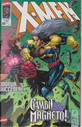 Gli Incredibili X-Men n. 089 by John Francis Moore, Scott Lobdell, Ralph Macchio